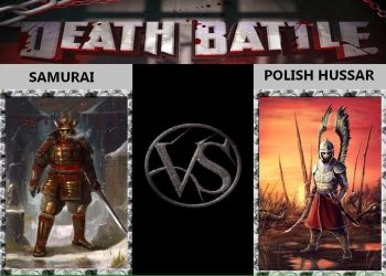 Death Battle #8 SAMURAI VS POLISH HUSSAR by adrian98-12