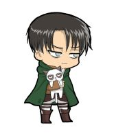 Levi-grumpy Cat by raliPB