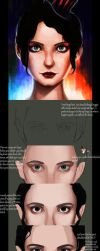 .Bright Eyes Tutorial. by Rashedjrs