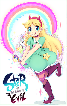 Star Vs The Forres of Evil by Bananaproduction