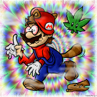 Wrong leaf, Mario.... by BoxBird