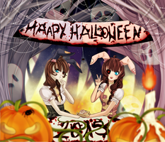 [Collab] Happy Halloween 2015 by Suesanne