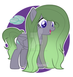 Gloom with cutie mark by thecyanidefairy