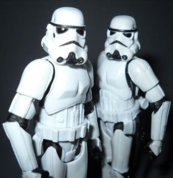 Twin trooper by HobbyChaos