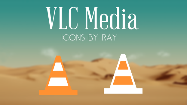 VLC Media Flat Style Icons by Ray by Raiiy
