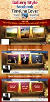 Gallery Style Facebook Timeline Cover by squizmo