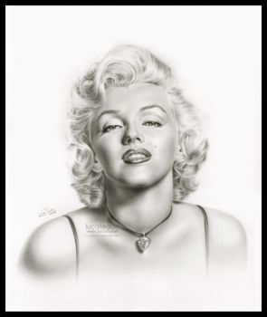 Marilyn Monroe by LucaTedde