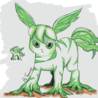Beta Leafeon by Hatters-Workshop