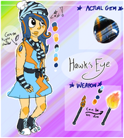 [GEMSONA] Hawk's Eye by ThatCreativeCat