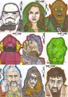 Star Wars Galaxy 4 batch 3 by NORVANDELL