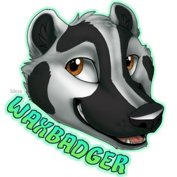WaxBadger Badge by Idess (BLFC 2016) by The-WaxBadger