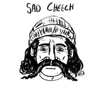 sad cheech by LateNiteDraw