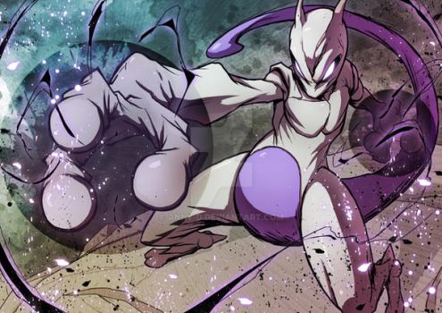 Mewtwo by Anny-D