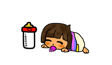 Baby Frisk by TopHatLycanthrope