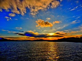 Sunrise at Loch Lomond HDR by IoannisCleary