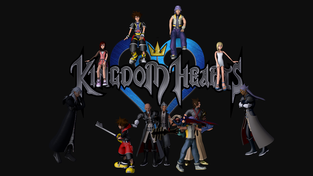 Kingdom Hearts - Celebrating 10 years by TheRPGPlayer