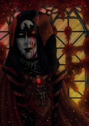 Crimson priest by Master-Of-Fear