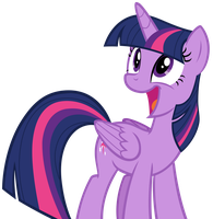 Twilight Sparkle Gasping with Delight by AndoAnimalia