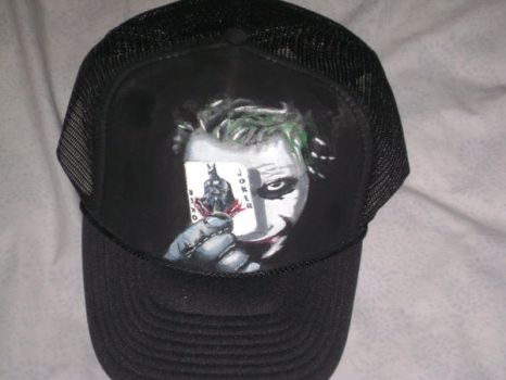 The  Joker cap by MargieAnn