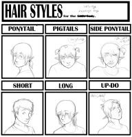 Hair Meme :D by Lunaromon