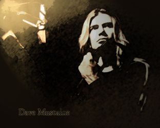Dave Mustaine by ShadowSteve