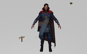 Doctor Strange (Movie) (3D Model MFF) by Pitermaksimoff