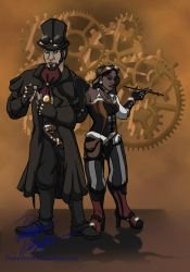 Steampunks! by DanaTrent