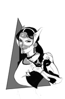 Symmetra sketch by nidonesse