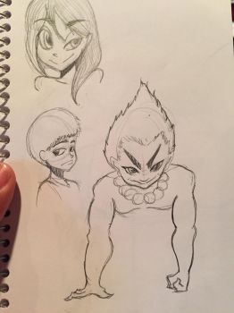 Sketches by Zae9000
