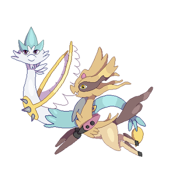 Contest Fakemon Entry by bellpup