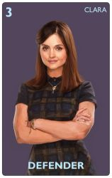 Doctor Who Card Game Clara by JonHodgson