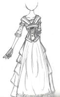 Mrs Lovett's Dress Design by bleu-realm