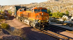BNSF 6743 at the Narrows by photogatlarge