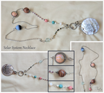 The Solar System Necklace by Planetrix