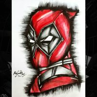 Deadpool Fan Art by meghashreedas