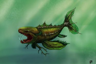Swamp Fish by savage-oats
