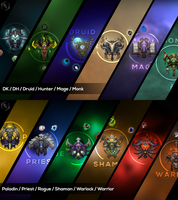 WoW Wallpaper Compilation by Xael-Design
