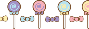 Lollipop Dividers by ArtsyAndreaM