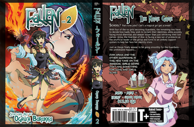 FaLLEN Volume 2 Dust Jacket Cover Artwork by OgawaBurukku