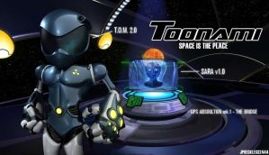 Toonami: T.O.M. 2.0 Era Wallpaper by JPReckless2444