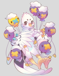 Drifloon Pile by Cuney