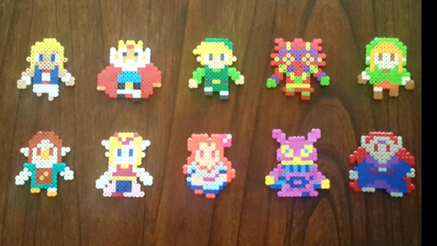 Hyrule Warriors Legends sprites by Pika-Robo