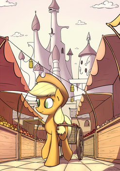 Canterlot Series - Applejack by SubjectNumber2394