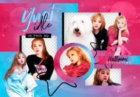 PNG PACK: Yuqi #2 by Hallyumi