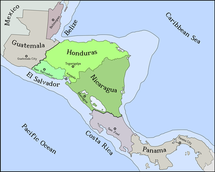 Greater Republic of Central America by Luis2100PT