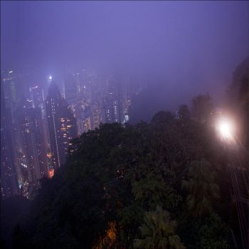 Ghostly Hong Kong XV by photoport