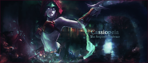 Cassiopeia - The Serpent's Embrace by Meliaduel