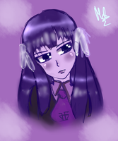 Theme 10. Purple (Shouko Kirishima) by Meloewe