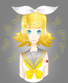 Rin Kagamine by Onlymykind