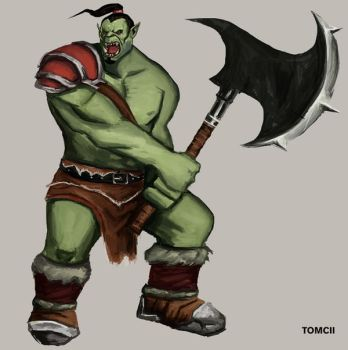 Orc by Tom-Cii